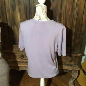 Tops - Lavender soft blouse